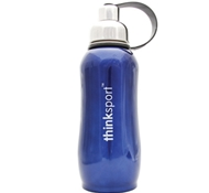 Stainless Steel Insulated Sports Bottle - 25 oz. - Metallic Blue