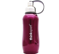 Stainless Steel Insulated Sports Bottle - 25 oz. - Metallic Purple