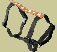 "EarthDog Decorative Hemp Harness – Small, 12-20"" (chest girth)"