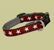 EarthDog Extra-Small Decorative Hemp Adjustable Collar