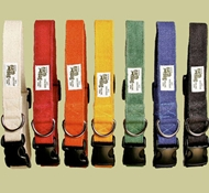 EarthDog Solid Adjustable Hemp Collars