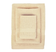 Bamboo Towel Set in Butterscotch (1 Wash Cloth, 1 Hand Towel, and 1 Bath Towel)