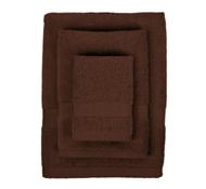 Bamboo Towel Set in Chocolate (1 Wash Cloth, 1 Hand Towel, and 1 Bath Towel)