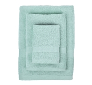 Bamboo Towel Set in Dreamy Blue (1 Wash Cloth, 1 Hand Towel, and 1 Bath Towel)