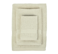 Bamboo Towel Set in Ecru (1 Wash Cloth, 1 Hand Towel, and 1 Bath Towel)