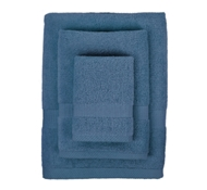 Bamboo Towel Set in Midnight Blue (1 Wash Cloth, 1 Hand Towel, and 1 Bath Towel)
