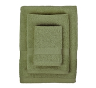 Bamboo Towel Set in Sage (1 Wash Cloth, 1 Hand Towel, and 1 Bath Towel)