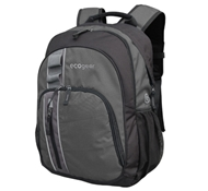 Palila II Recycled PET Backpack in Charcoal