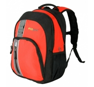 Palila II Recycled PET Backpack in Red Orange