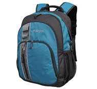 Palila II Recycled PET Backpack in Aqua Blue