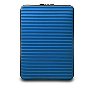 "Neogreene Eco-Friendly Tactile Laptop Sleeve in Numbat - Mac 15"" Size in Tahoe Blue"