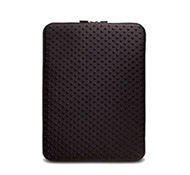 "Neogreene Eco-Friendly Tactile Laptop Sleeve in Saola - 13"" Size in Black"