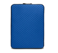 "Neogreene Eco-Friendly Tactile Laptop Sleeve in Saola - 15"" Size in Tahoe Blue"