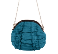 Hemptress Mona Mini Hemp Bag in Teal Green