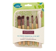 Bamboo 6 Piece Essential Eye Brush Set