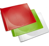 Preserve BPA-Free Cutting Board Set - Small (3 Pieces - 1 White, 1 Green and 1 Red)