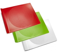 Preserve BPA-Free Cutting Board Set - Large (3 Pieces - 1 White, 1 Green and 1 Red)