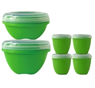 BPA-Free Food Storage Set (Includes 3 Large Containers, 3 Small Containers and 4 Mini Containers)