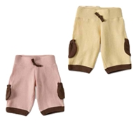 Organic Cotton Thermal Pocket Baby Pants