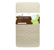 Naturepedic Organic Cotton Deluxe 252 Coil Quilted Crib/Toddler Mattress
