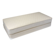 Naturepedic Organic Cotton 2-in-1 Ultra/Quilted Mattress Sets  with Boxspring (Waterproof)