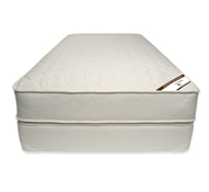 Naturepedic Organic Cotton Deluxe Quilted Mattress Sets with Boxspring