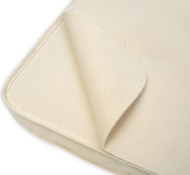 Naturepedic Organic Cotton Waterproof Flat Portable Crib Mattress Protector Pad