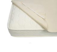 Naturepedic Organic Cotton Flannel Mattress Protector Pads with Straps