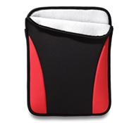 "Neogreene Eco-Friendly Shapo iPad & 10"" Tablet Sleeve in Ruby Red"