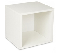 Storage Cube in White