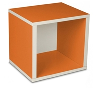 Storage Cube in Orange