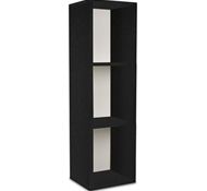 Triple Storage Cube Plus in Black