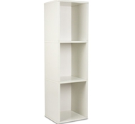 Triple Storage Cube Plus in White