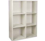 Tribeca Bookcase in White