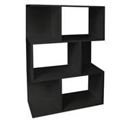 Madison Modern Bookcase in Black