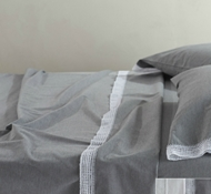 Organic Cotton Crochet-Trimmed Sheet Sets & Pillowcases ($58 - $348)