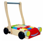 Eco-Friendly Baby Walker with Blocks