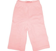 Midori Bamboo + Organic Cotton Elastic Waist Striaght Leg Pants in Primrose Pink