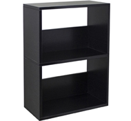 Duplex Bookcase in Black