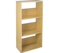 Triplet Bookcase in Natural