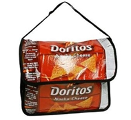 Terracycle Doritos Nacho Cheese Chips Upcycled Messenger Bag