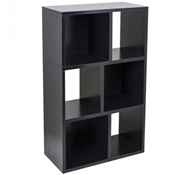 Laguna Modern Bookshelf in Black