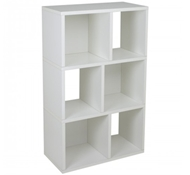 Laguna Modern Bookshelf in White