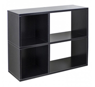 Chelsea Modern Bookshelf in Black