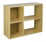 Chelsea Modern Bookshelf in Natural