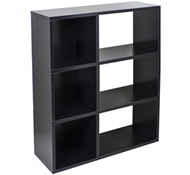 Sutton Modern Bookshelf in Black