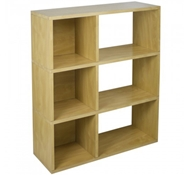 Sutton Modern Bookshelf in Natural