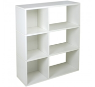 Sutton Modern Bookshelf in White