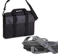 Recycled PET Laptop Carrying Bags in Addax ($89.95)