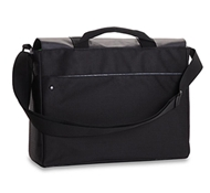 "Recycled PET Laptop Carrying Bag in Bonobo - 15"" in Black"